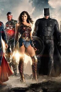 1440x2560 2017 Justice League 4k