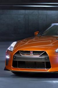 2017 Nissan GTR Orange