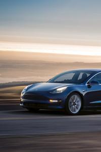 1080x1920 2017 Tesla Model 3