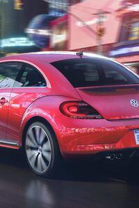 1440x2960 2017 Volkswagen Pink Beetle Model