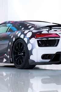 2018 Abt Audi R8 Art Color