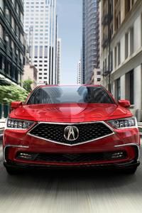 2018 Acura RLX Sport Hybrid SH AWD Front