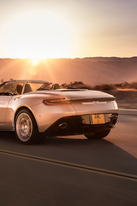640x1136 2018 Aston Martin Db11 Volante Rear