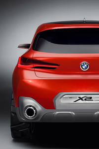 640x1136 2018 Bmw X2 Concept Car Rear