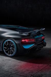 2018 Bugatti Divo Rear Side View