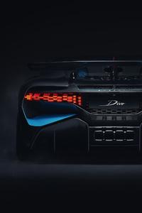 2018 Bugatti Divo Rear View