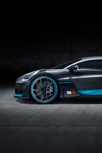 2018 Bugatti Divo Side View