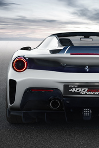 2018 Ferrari 488 Pista Spider Rear