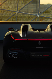 320x568 2018 Ferrari Monza SP2 Rear