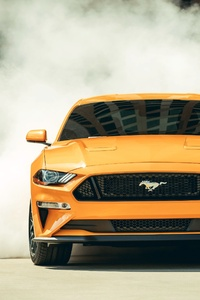 240x320 2018 Ford Mustang GT Fastback Front