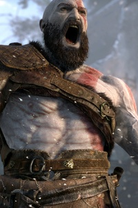 1080x2160 2018 God Of War 4