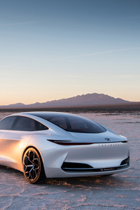 2018 Infiniti Q Inspiration Concept Car Rear