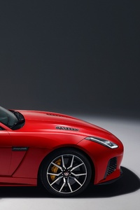 2018 Jaguar F Type Svr Side View