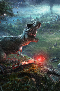 2018 Jurassic World Evolution 4k