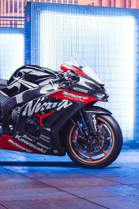 800x1280 2018 Kawasaki Zx10r 4k