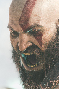 540x960 2018 Kratos God Of War 4k