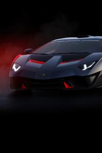 1080x2280 2018 Lamborghini SC18 Front