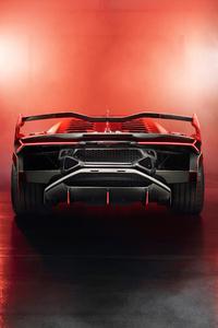 800x1280 2018 Lamborghini SC18 Rear