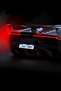 360x640 2018 Lamborghini SC18 RearView