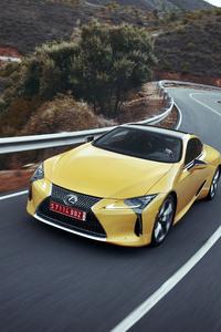 1125x2436 2018 Lexus LC 500 4k