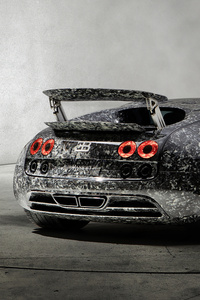 2018 Mansory Bugatti Veyron Vivere Diamond Edition Rear
