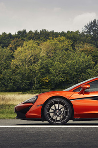 2018 Mclaren 570gt Black Pack Side View