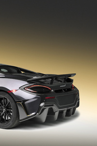 2018 McLaren 600LT Rear View