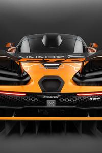 2018 McLaren Senna GTR Concept Rear 4k