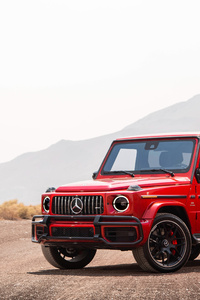 2018 Mercedes AMG G 63 Front