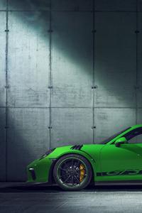 320x568 2018 Porsche 911 GT3 RS Side View