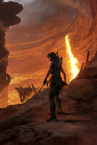 2018 Shadow Of The Tomb Raider Official Artwork 5k