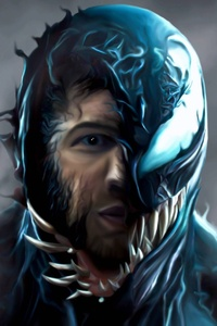 2018 Venom Movie Artwork