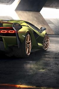 2019 8k Lamborghini Sian Rear