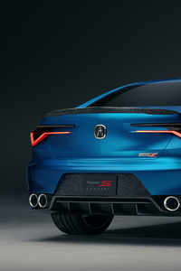 750x1334 2019 Acura Type S Concept 10k
