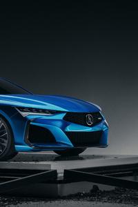 750x1334 2019 Acura Type S Concept