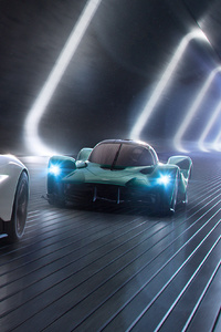 720x1280 2019 Aston Martin Vanquish Vision Concept Front