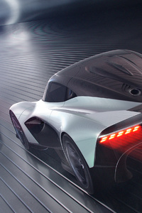 2019 Aston Martin Vanquish Vision Concept Rear View