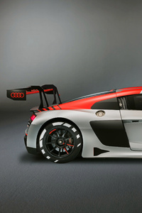 1125x2436 2019 Audi R8 LMS Side View
