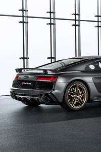 1440x2960 2019 Audi R8 V10 Decennium Rear