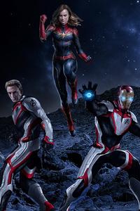 2019 Avengers Endgame Art