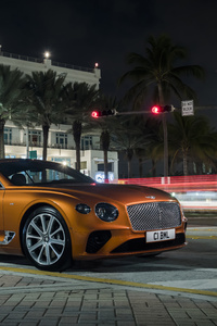 1080x2160 2019 Bentley Continental GT V8 8k