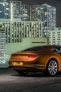 1080x2160 2019 Bentley Continental GT V8 Rear