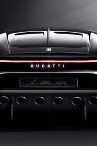 2019 Bugatti La Voiture Noire Rear View