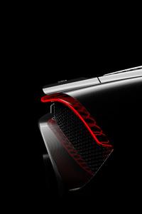 2019 Bugatti La Voiture Noire Rear