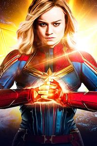 1440x2560 2019 Captain Marvel