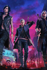 2019 Devil May Cry 5 1080P