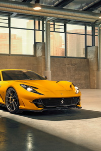 2019 Ferrari 812 Superfast Novitec Front