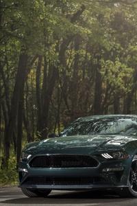 2160x3840 2019 Ford Mustang Bullitt Front