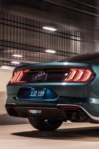 2019 Ford Mustang Bullitt Rear 4k