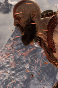 240x400 2019 God Of War 4 4k